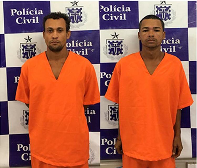 Os suspeitos já possuem passagens por furto - Foto: Divulgação   SSP