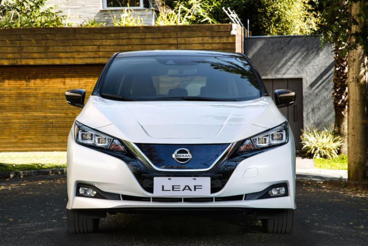 Segunda geração do Nissan Leaf - Foto: Divulgação