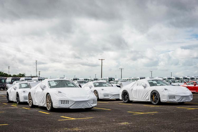 Carros foram entregues para clientes no Brasil em três estados