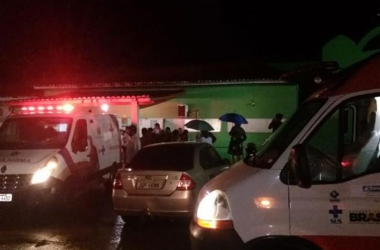 Treze pessoas foram encaminhadas ao Hospital Dr. Lauro Costa Falcão - Foto: Reprodução | Jacuípe News