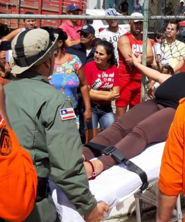 A gestante foi retirada da zona rural e encaminhada à área urbana da cidade - Foto: Divulgação   SSP