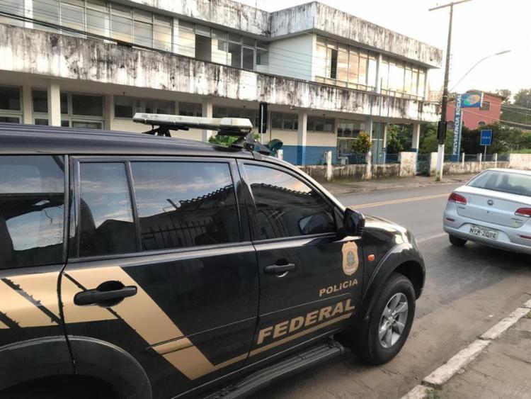 Mandados são cumpridos em Salvador, Aratuípe, Vera Cruz e Nazaré - Foto: Divulgação   Polícia Federal
