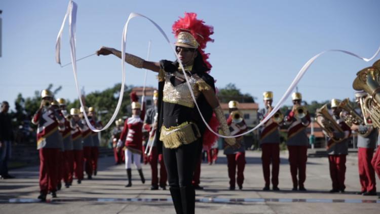 Filme mostra participação da comunidade no desfile - Foto: Divulgação