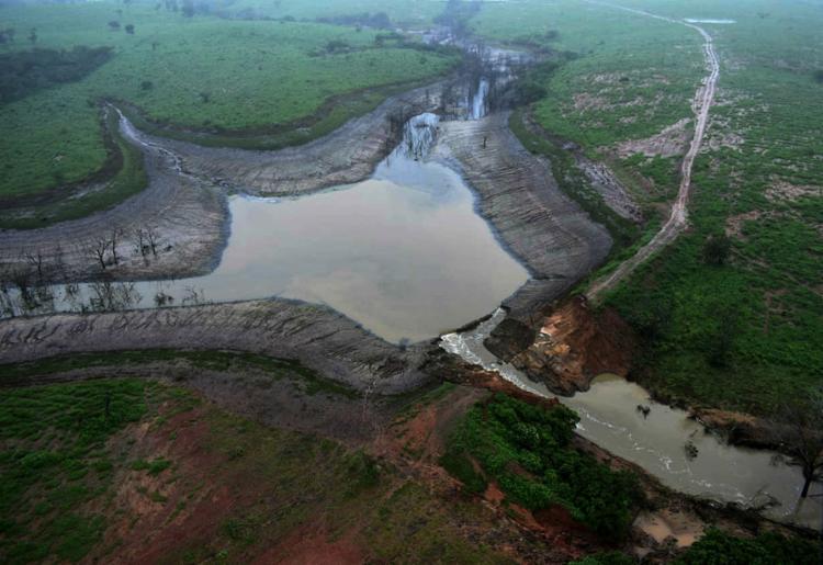Na última quinta-feira, 11, barragem do Quati se rompeu em Pedro Alexandre - Foto: Divulgação l Gov-BA l 12.7.2019
