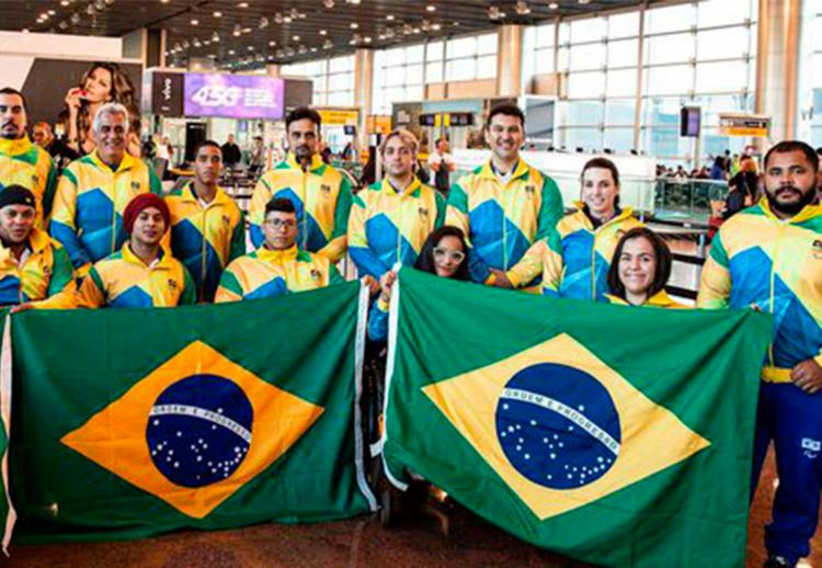 Delegação brasileira viaja para o Mundial em Nur-Sultan, no Cazaquistão - Foto: Divulgação | CPB