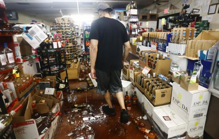 O tremor é o mais forte a atingir o estado nos últimos 20 anos - Foto: Mario Tama l AFP