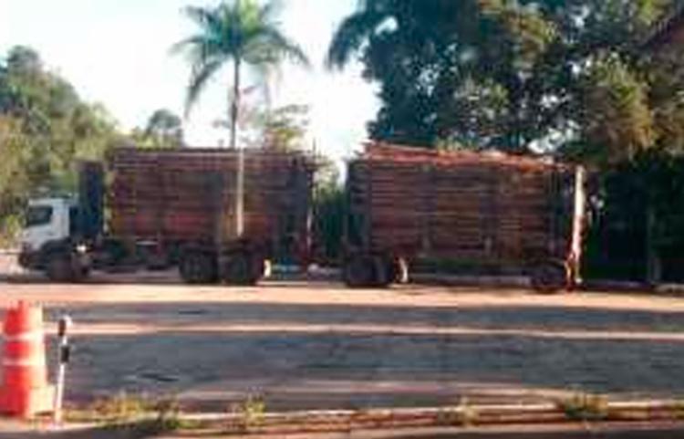 Veículo foi submetido a uma pesagem na balança que apontou 59,36 toneladas - Foto: Divulgação | PRF