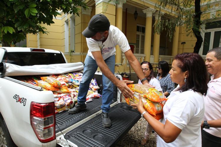 Materiais devem ser entregues na sede das VSBA, no Campo Grande - Foto: Fernando Vivas | GOVBA