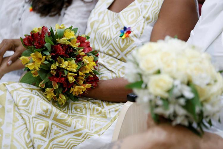 Casamento coletivo acontece na Faculdade de Direito da Ufba - Foto: Adilton Venegeroles I Ag. A TARDE