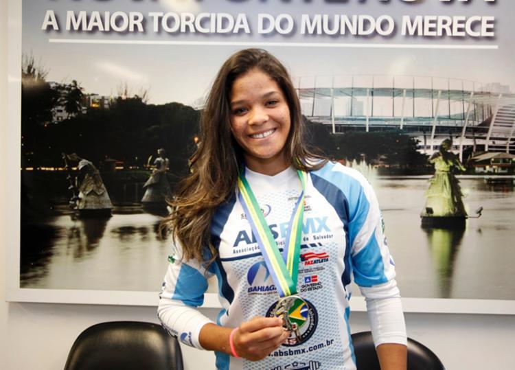 Paola Reis é a primeira atleta do Nordeste a se tornar campeã na categoria Elite Women - Foto: Divulgação | Sudesb
