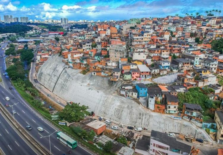 A intervenção é a quarta a ser entregue na região - Foto: Divulgação | Prefeitura de Salvador
