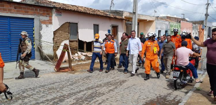 Rui Costa visita os municípiso de Pedro Alexandre e João Coronel Sá - Foto: Eudes Benício_GOVBA