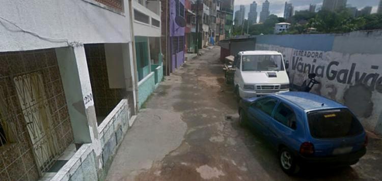 O crime aconteceu na rua Esperança, por volta das 14h30 - Foto: Reprodução   Google Street View
