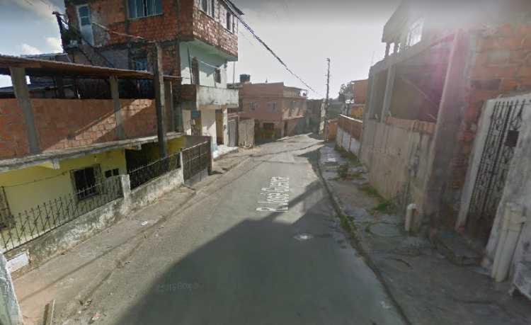 Crime aconteceu na rua ao lado da padaria - Foto: Reprodução I Google Street View