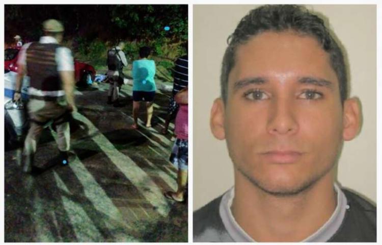 Sandro Moutinho estava no fim de linha do bairro quando foi morto a tiros - Foto: Reprodução