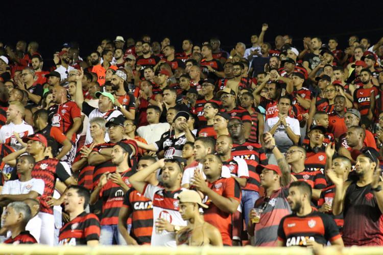 O duelo no Barradão passou do dia 16 para o dia 19 - Foto: Divulgação | EC Vitória