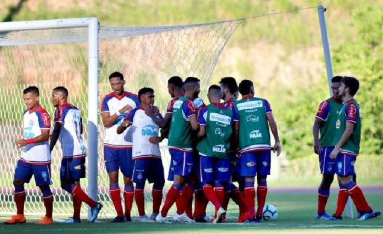 Esquadrão ocupa atualmente a segunda colocação do grupo A, com 16 pontos - Foto: Felipe Oliveira | EC Bahia