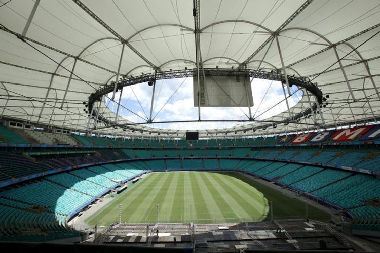 O jogo, que seria no sábado, 3 de agosto, às 21h, passará para o domingo, 4, às 16h - Foto: Uendel Galter   AG. A TARDE