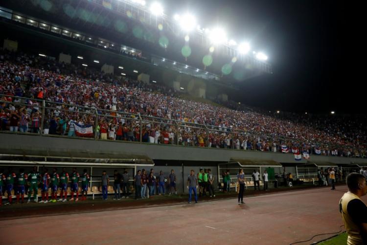 Jogo será realizado no próximo sábado, 13, às 19h - Foto: Felipe Oliveira | EC Bahia
