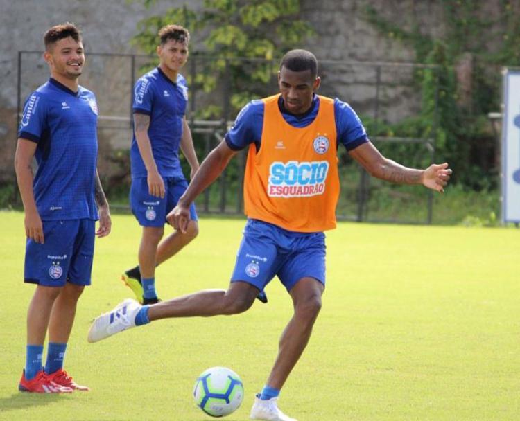 O elenco completo do Bahia volta a trabalhar na manhã desta sexta, 12 - Foto: Divulgação | EC Bahia