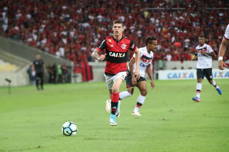Ronaldo é cria da base do Flamengo - Foto: Gilvan de Souza | Flamengo