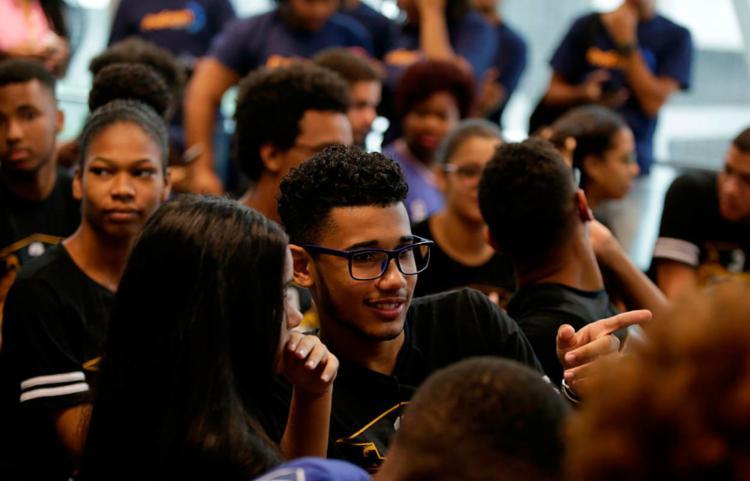Aulões serão transmitidos ao vivo no Portal da Educação e redes sociais da Educação Bahia - Foto: Joá Souza   Ag. A TARDE