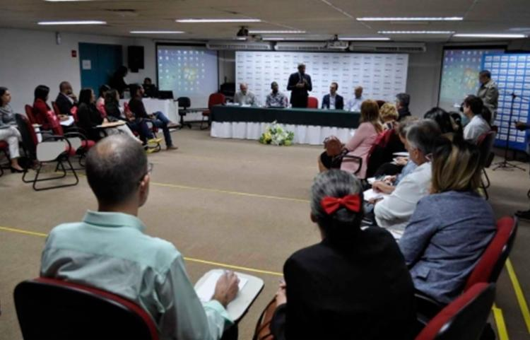 O encontro foi realizado no Instituto Anísio Teixeira (IAT) - Foto: Luana Costa | Ascom/IAT/SEC