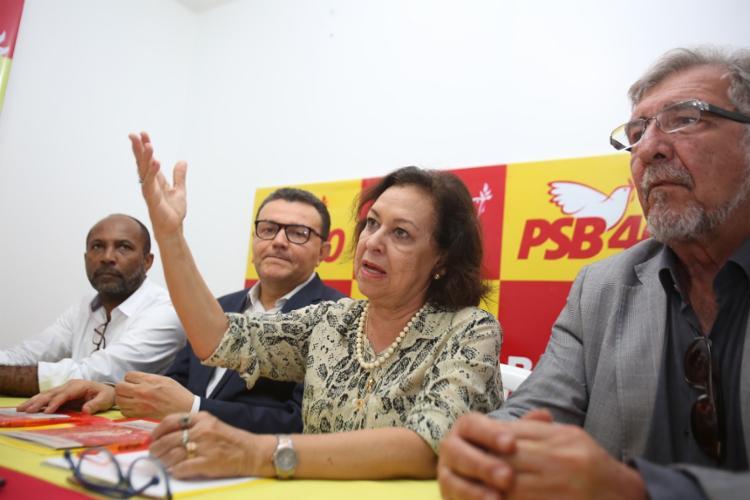 Caso se concretize a possível candidatura, ela surge como oposição ao DEM - Foto: Joá Souza | Ag. A TARDE