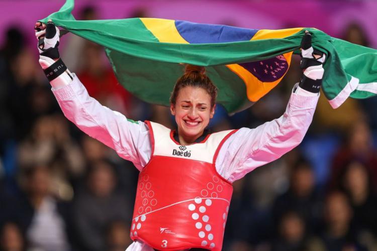 A conquista de Milena foi adquirida após três lutas - Foto: Abelardo Mendes Jr | rededoesporte.gov.br