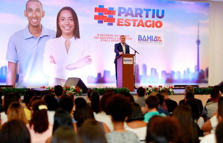 A convocação foi anunciada pelo governador Rui Costa - Foto: Luciano da Matta   Ag. A Tarde