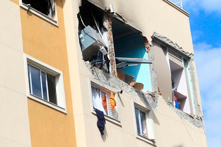 Explosão em apartamento de Curitiba causou a morte de uma criança de 11 anos - Foto: Franklin Freitas | Estadão Conteúdo