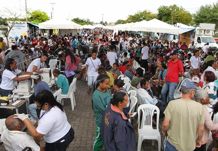 A expectativa da SESAB é atender oito mil pessoas da Região Metropolitana de Salvador, até domingo (21) - Foto: Alberto Coutinho_GOVBA