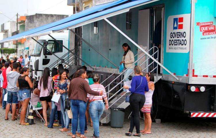 Evento oferece serviços de saúde e cidadania - Foto: Elói Corrêa | GOVBA