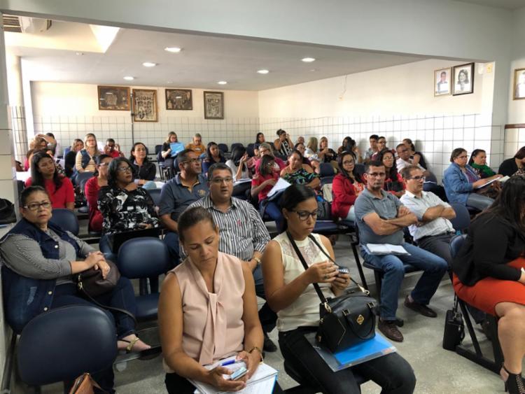 A formação conta com a contribuição das universidades e faz parte do regime de colaboração entre a SEC e os municípios. - Foto: Divulgação