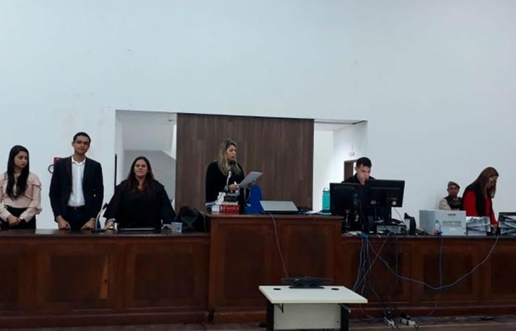 O julgamento aconteceu na última quinta-feira, 11, no Fórum Desembargador Filinto Bastos, em Feira de Santana - Foto: Reprodução | Acorda Cidade