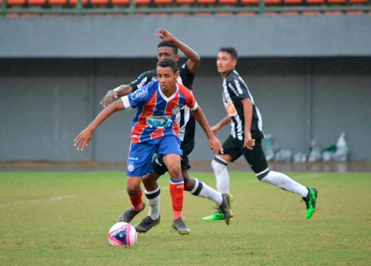 Tricolor perdeu na disputa de pênaltis após empatar em 1 a 1 no tempo regular - Foto: Divulgação | Sudesb