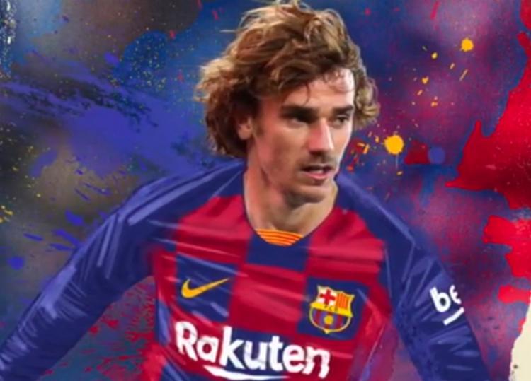Barcelona ainda não confirmou a data de apresentação do atacante francês - Foto: Reprodução | Instagram