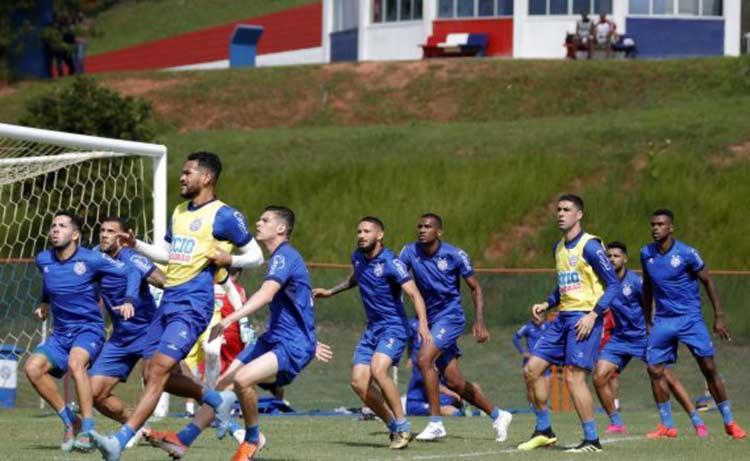Roger deve colocar força máxima frente à equipe celeste - Foto: Divulgação I Esporte Clube Bahia