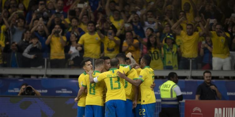 Na história da Copa América poucas equipes conseguiram o título sem ter a defesa vazada - Foto: Lucas Figueiredo | CBF