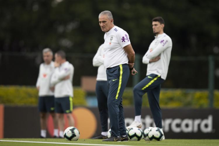 Para esta convocação, Tite deve promover mudanças em comparação à lista para a Copa América - Foto: Lucas Figueiredo | CBF