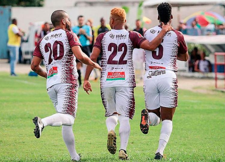 Gol do time de Riachão do Jacuípe saiu dos pés de Thiago de Lima, cobrando pênalti - Foto: Divulgação | Jacuipense