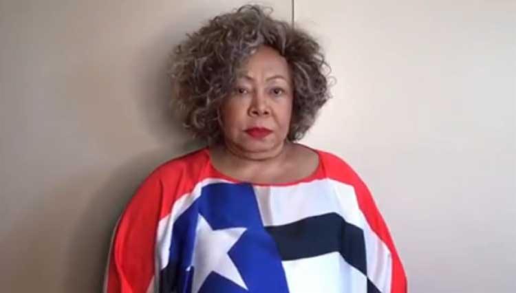 Cantora ficou indignada com o trato ao povo maranhense - Foto: Reprodução I Alcione