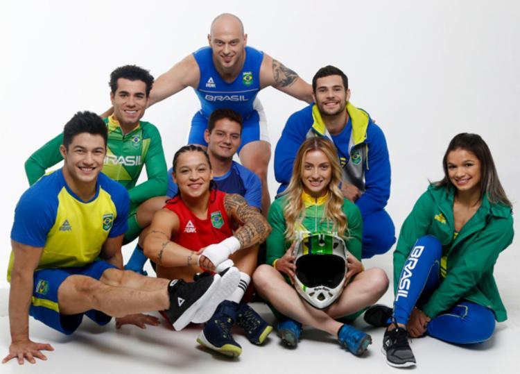 Tentando mais vagas, o Brasil teve sua maior equipe em 2016 com 465 atletas - Foto: Divulgação | COB