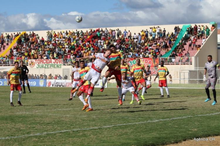 A Juazeirense venceu o Brusque por 1 a 0, no estádio Adauto Morais - Foto: Divulgação | Juazeirense