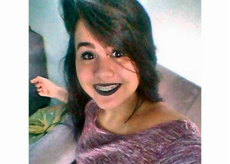 Andreza Victória foi assassinada com um tiro na nuca (Foto: Reprodução   Facebook)