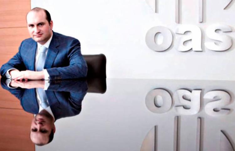 O pai dele, Cesa Mata Pires, fundador da OAS, morreu em 2017 vítima de um infarto - Foto: Reprodução | OAS