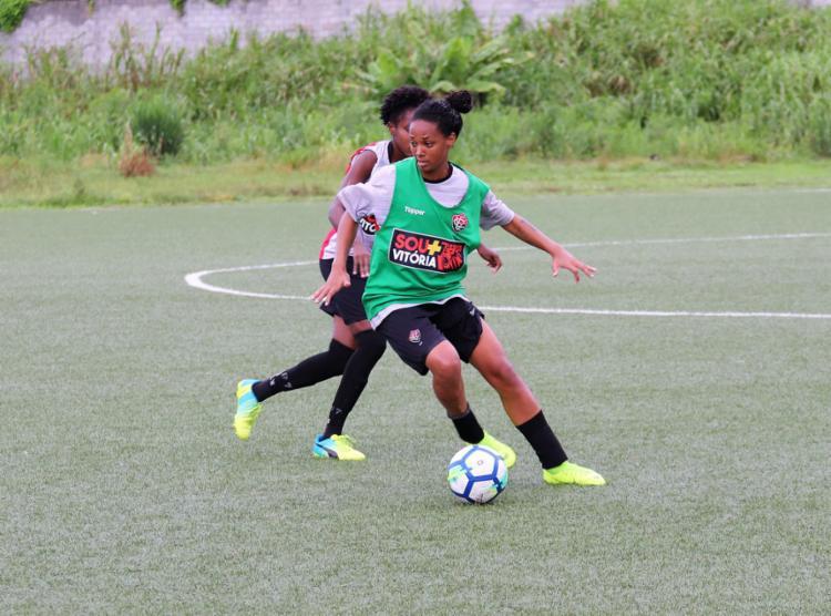 O Vitória enfrentará o Santos pela primeira fase do Brasileirão da Série A1 - Foto: Kadu Brandão l EC Vitória