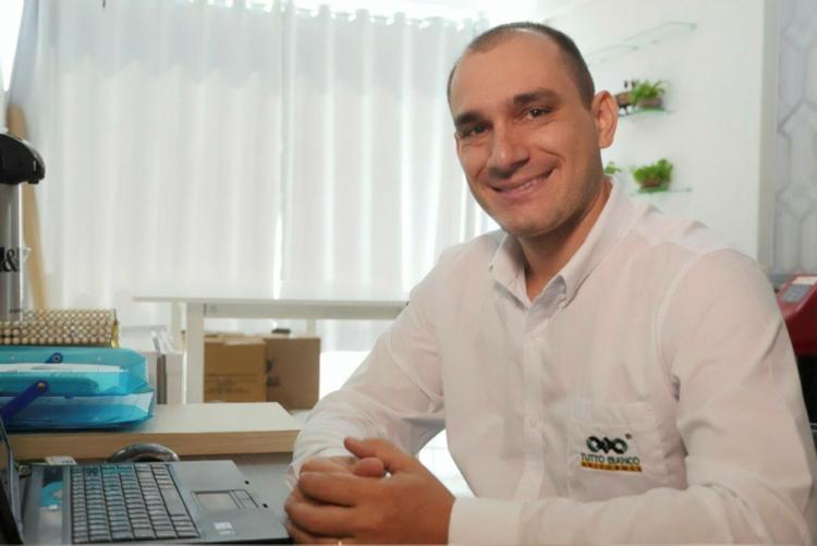 Empresário Ricardo Scartazzini, dono da Tutto Bianco, conseguiu ampliar área de atuação - Foto: Tutto Bianco I Divulgação