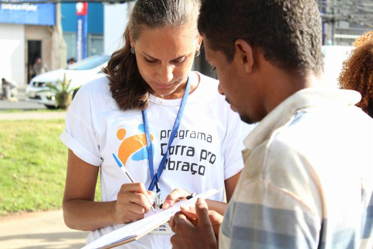 O evento é realizado pelo 'Programa Corra pro Abraço', da SJDHDS - Foto: Divulgação | Feira Saúde e Cidadania nos Mares