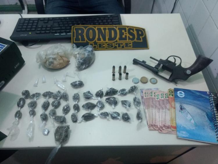 Além de tráfico de drogas, 'Nego Jah' era investigado por três homicídios cometidos no primeiro semestre deste ano - Foto: Divulgação | SSP